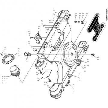 Kobelco SK135SRL-1E Hydraulic Final Drive Motor